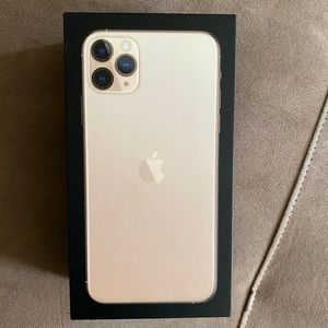 BOX ONLY- iPhone 11 Max Pro box